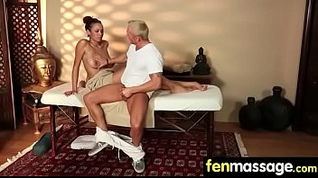 Fantasy Massage Babe gets a House Call 30
