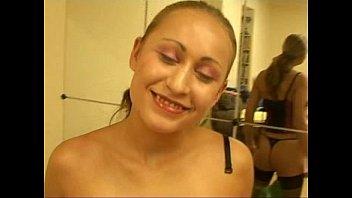 Sexy blond Valery Hilton (Sabrina White) in blowjob pov